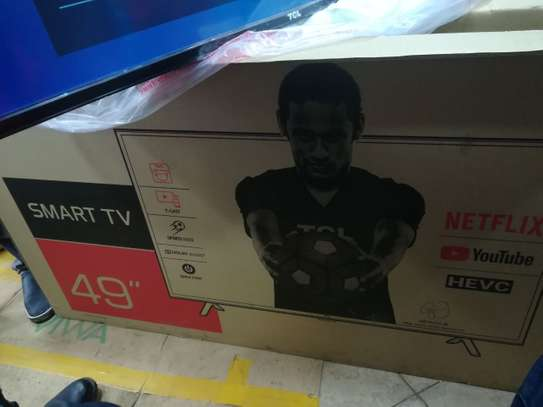49 inch tcl smart Android TV on offer at 44500 image 1