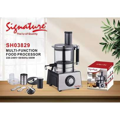 Signature Multy-Functional Food Processor image 1