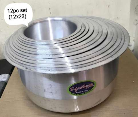12 pcs aluminum cookware image 1