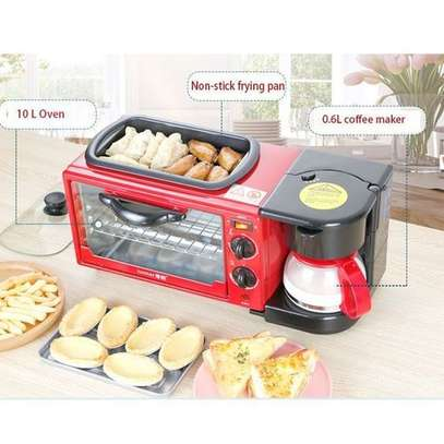 3 In 1 Multi Function Breakfast Maker Machine With Grill image 1