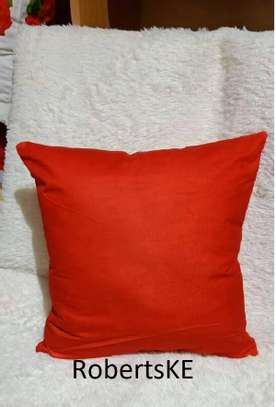 orange throw pillows image 1