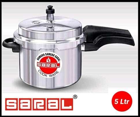 5litre Saral Pressure  Cooker/Pressure Cooker image 1