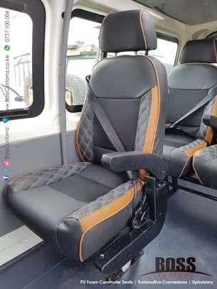 Executive Tour Land Cruiser Seats