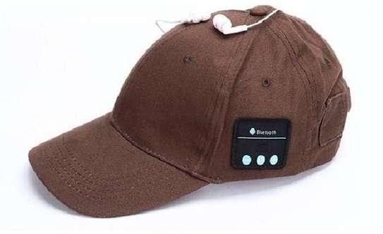 Small Bluetooth Hat Wireless Smart Speakerphone Cap image 1