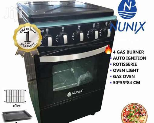 GAS COOKER WITH OVEN image 1