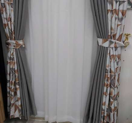 EUROPEAN MODERN COTTON LINEN CURTAINS image 4