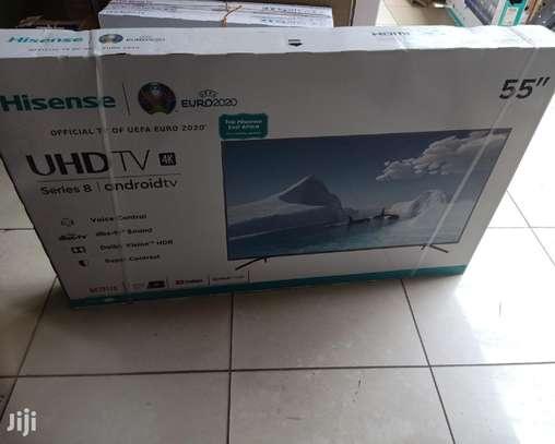 "Hisense 55B7206UW - 55"" UHD 4K ANDROID TV - Series 7- Black image 1"
