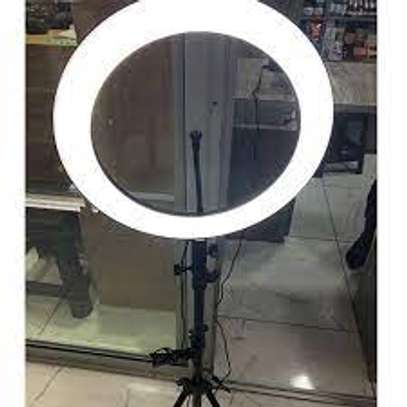 14 inch Ring Light with Stand and Phone Holder image 1