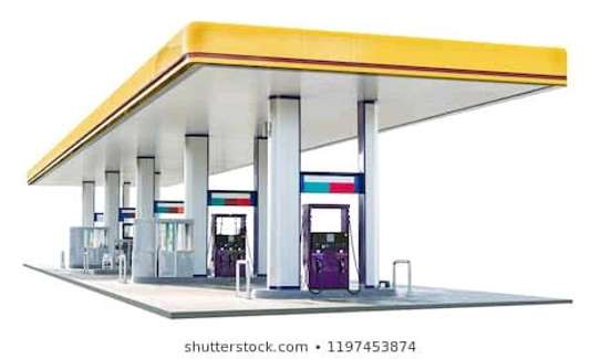 Petrol station fuel oil system image 1