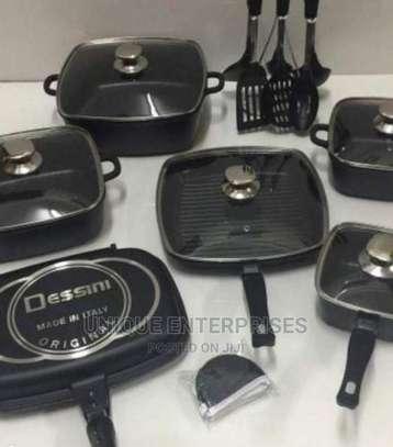 21pcs Dessini Cookwares Set image 1