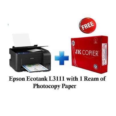 Epson Epson Ecotank L3111 and get 1 free Ream of Photocopy Paper image 1