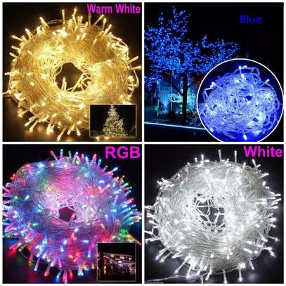 Perfect for indoor and outdoor decoration 10 metes all  colors available image 1