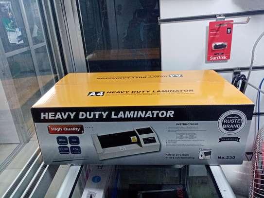 Laminator lamination laminating machine A4 image 1