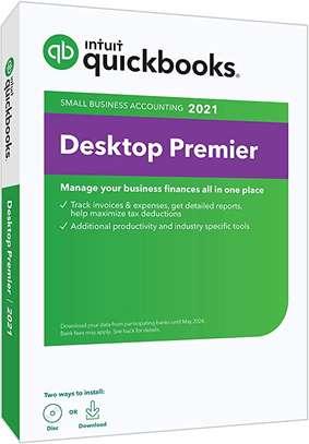 Intuit Quickbooks UK Version 2021 image 1