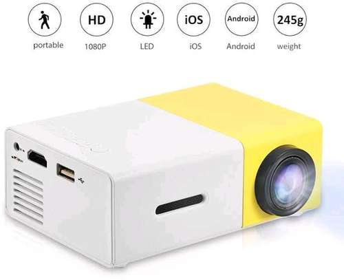 Led mini projector image 1