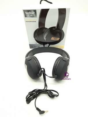 Lelisu LS-813 Stereo Hi-Fi Corded Headphones with Microphone image 4