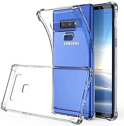 Clear TPU Soft Transparent case for Samsung Note 9 image 4