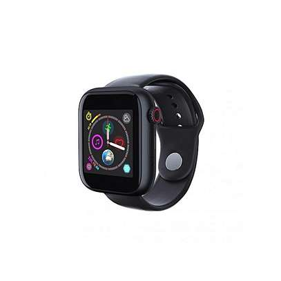 Z6 Touch Screen Smart Watch Phone with SIM Slot - Black