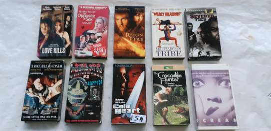 ORIGINAL USED DVDS MOVIES AND VHS MOVIES CASSETTES. image 5