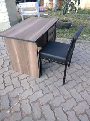 office table and chair. Free delivery within Nairobi