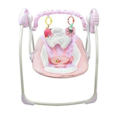 Kids Bright Electric baby swing chair musical baby bouncer newborn baby swings image 2