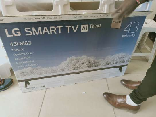 "lg 43""smart digital tv image 1"