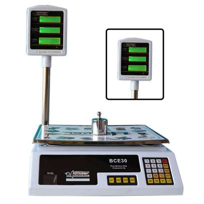Electronic Scale 30 Kg With Tower image 1