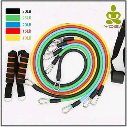 10 in 1 fitness resistance bands image 3