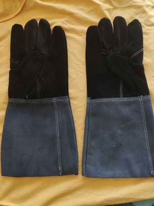 Leather Gloves For Construction And Welding image 3