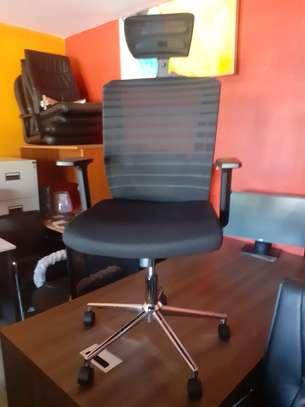Orthopedic Mesh Chairs With Tilt Mechanism, Adjustable Arms & Adjustable Headrest image 1