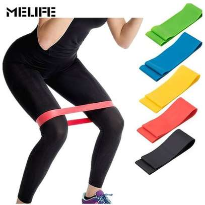 Generic Fitness Yoga Resistance Bands Health Elastic Sport Body Latex Belt Pull Strap Force Arm Thigh Strength Training Strap 600*50 m'm image 1