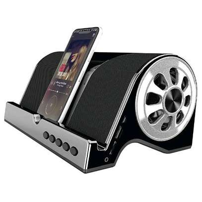 Unique extra bass bluetooth speaker image 1