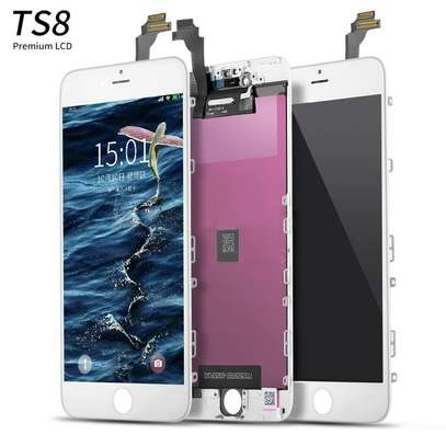 mobile LCD display for iphone 6 screen replacement image 1