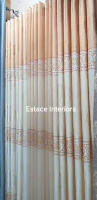 Matched curtains and sheers image 1