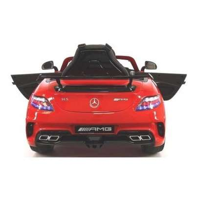 Mercedes Benz- Children Electric Ride-On Car With Remote - Red image 3