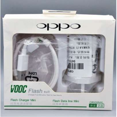 Original Oppo VOOC 5V 2.4A Flash Charger For Android image 4
