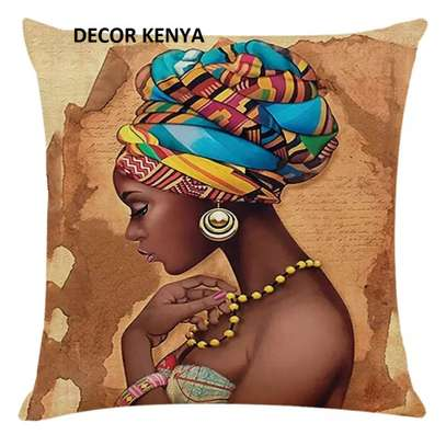 DECOR AFRICAN PRINT PILLOW CASES image 3