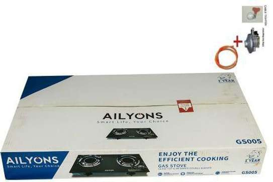 Ailyons glass toptable cooker gas image 2