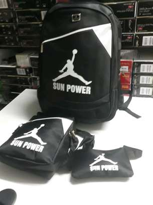 3 in 1 sun power laptop back pack image 2