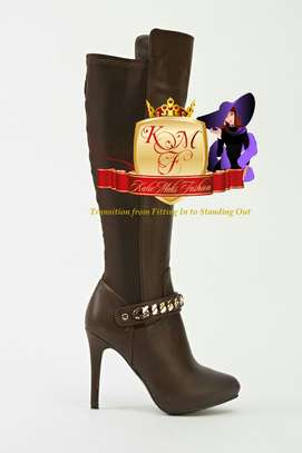 Knee Length Boots Made in U.K image 7