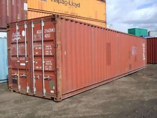 Used Shipping Containers image 1