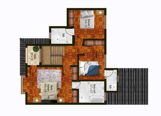 4 bedroom townhouse for sale in South C image 12