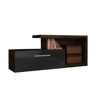 TV Stand For Up to 50'' TVs - Tecno Mobili , BlackBrown image 3