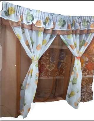 Kitchen window curtain/blinds image 1