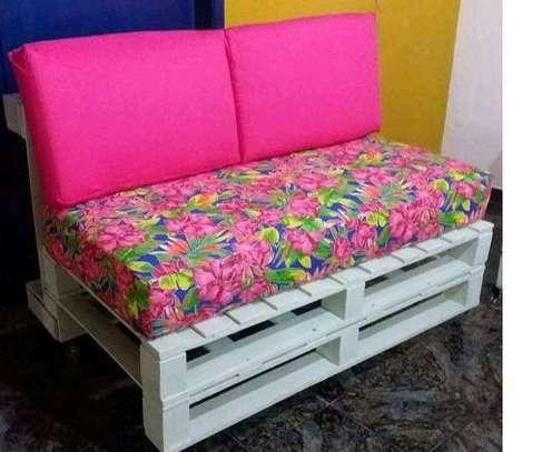 Beautiful Modern Quality 2 Seater Pallet Sofa image 2