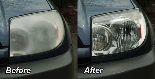Car Headlights HeadLamps Restoration Machine Kit image 5
