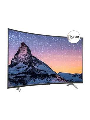 Tcl 55 inch smart Android tv curved
