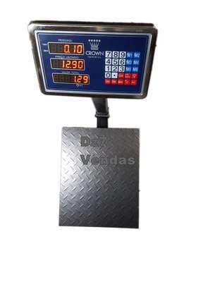 Super Digital Platform Scale 150 Kg . image 1