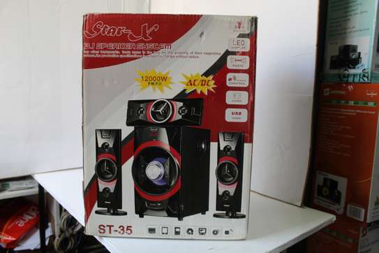 Star-x  Sr-35 12000 Watts Multimedia Subwoofer System image 1