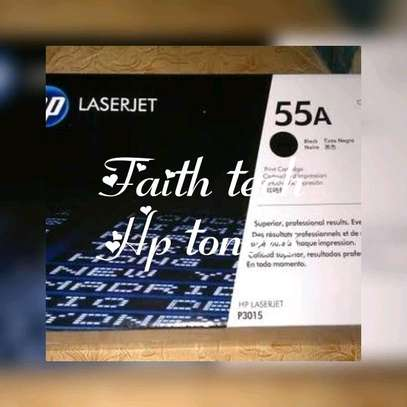 Black hp laserjet 55A toners image 1